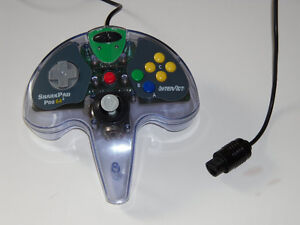 Nintendo 64 N64 InterAct SharkPad 64² Shark Pad CONTROLLER w BOX