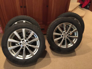 235/55R18 Goodyear Ultra Grip ICE Winter tires and Sport Rims