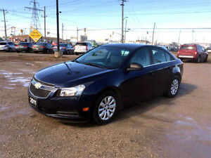 2011 CHEVROLET CRUZE LS+ ★ XM SAT AUDIO ★ SUPER LOW KM