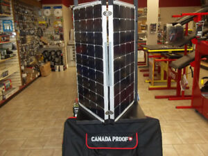 Portable RV Solar Panel - 180 Watt - Folding- Canadian Made