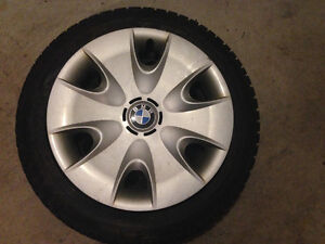 """16"""" Dunlop SP Run Flat Winter Tires and Rims from BMW 3 Series"""