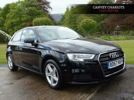 image for 2017 Audi A3 1.5 TFSI CoD SE S Tronic (s/s) 3dr Hatchback Petrol Automatic