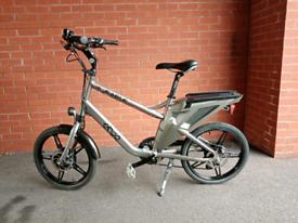 "Ebco Eagle electric bike Good used condition Wheel 20"" 8 Shimano gears"
