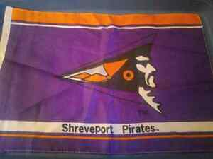 "Shreveport Pirates Flag 18""x11"" Canadian Football League CFL '95 London Ontario image 1"