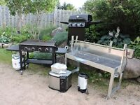22 x 52 large stainless steel  do it your self Rotisserie rental