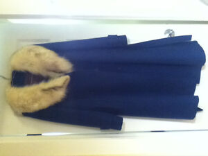 Real Fur / Wool Coat!