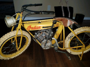 Indian motorcycle display