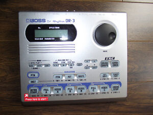 Mr BOSS DR-3 Rhythm Drum/BASS Machine