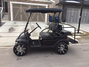 2013 Custom Club Car Golf Cart (Gas)