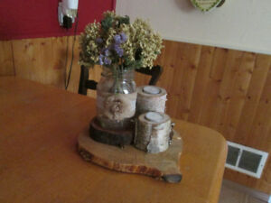 Rustic country home/wedding decor made by hand.