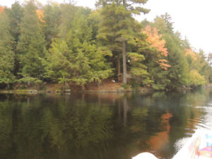 7 acres on a private lake in parrysound for sale