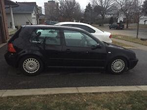 2001 Volkswagen Golf GLS Hatchback 160000km