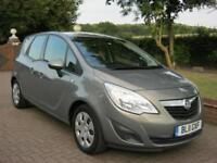 VAUXHALL MERIVA 1.4T 16v EXCLUSIVE 5DR 2011 11