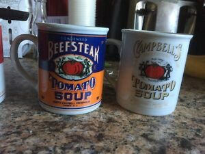 Campbell soup  company soup company collectable mugs  Kitchener / Waterloo Kitchener Area image 2