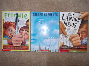 3 Andrew Clements books