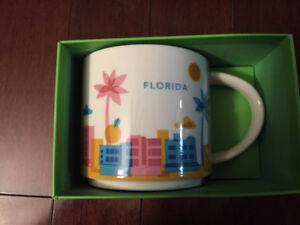 Brand new Starbucks You Are Here Mug -Florida, in original box