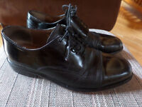 Men's black dress shoes sz 9 Bostonian First Flex