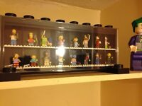 The Simpsons Lego figures series one with case