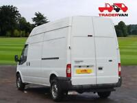 14 FORD TRANSIT T350 125ps Long Wheel Base RWD High Roof Panel Van DIESEL MANUA
