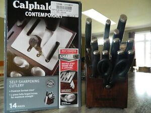 CALPHALON CONTEMPORARY SELF SHARPENING KNIFE SET