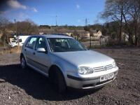 Volkswagen Golf 1.6 Match 5 DOOR - 2003 53-REG - 3 MONTHS MOT