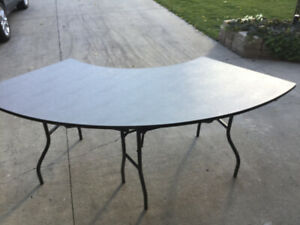 Folding Table Semi Circle Costs Over $500.00