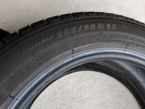 4 Winter Tires Michelin