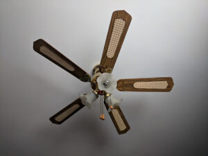 Ventilateur de plafond antique / Old fashion Ceiling Fan