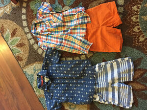 Shirt and shorts 2T size