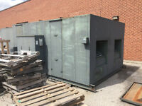 Twin Flow/united Spray Booths 60,000 CFM.
