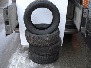 4 WINTER TIRES FIRESTONE WINTERFORCE225-60-17