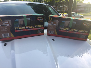 2 Custom Towing Mirrors
