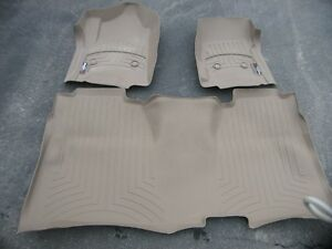 Weathertech Floormats - 2014,15,16,17 Chev or GMC Crew cab