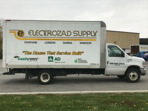 2012 Ford E450 Cube Van For Sale