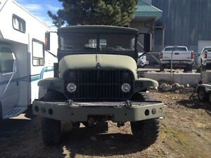ARMY TRUCK 1956 DUECE and a HALF