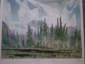 """Full Signature A.J. Casson-""""Morning Mist""""-Limited Edition Print Kitchener / Waterloo Kitchener Area image 8"""