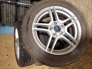 4 Summer Tires (Pneus d'été) Michelin 215/60R17