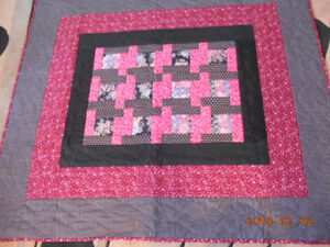 HAND QUILTED THROWS