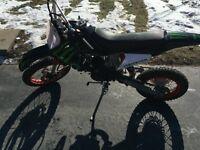 GIO 125cc pit bike