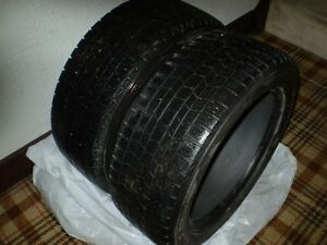 "2 - 16 "" P205-55-16 DUNLOP GRASPIC DS3 TIRES"
