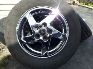 Crome Rims and Tires