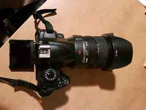 SLR and Video camera