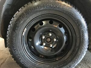 Gislaved NordFrost 100 SUV 235/65R17 TXL Winter Tires/Rims