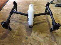 Dji inspire 1 drone quadcopter inc 4 batteries