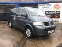 2008 1owner Volkswagen Transporter lwb 2.5TDi PD ( 130PS automatic shuttle bus