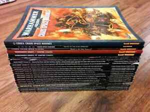 White dwarf magazines (with Codexes)