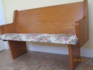 Solid OAK Church pew / bench