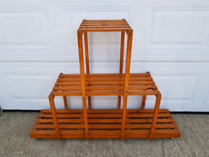 Solid Wood Plant Stand SOLD PPU