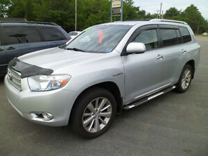 SOLD!!   2008 Toyota Highlander Hybrid Limited