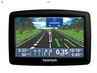 Tom Tom Sat nav with 2015 maps uk and Western Europe maps